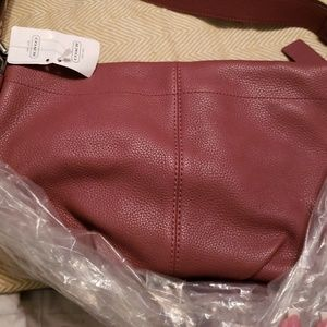 Coach Bags - NWT Coach EW Leather Duffle